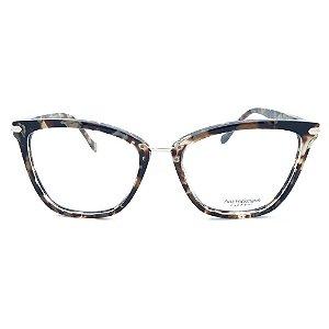 Armação de Óculos Ana Hickmann AH6363A G21 - 54 - Marrom