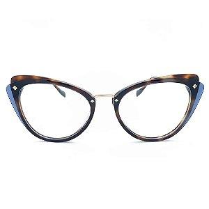 Armação de Óculos Ana Hickmann AH6326 H02 - 52 - Marrom