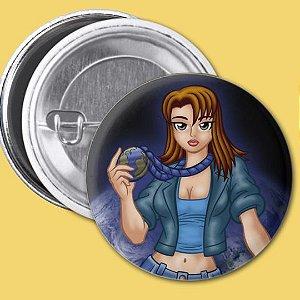 Bóton Medalha Zero da Personagem Pandora