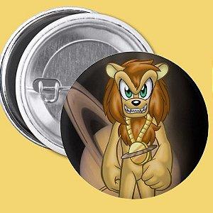 Bóton Medalha Zero do Personagem Juba