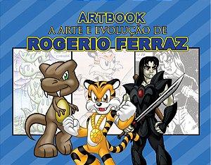 Artbook - A arte e evolução de Rogerio Ferraz