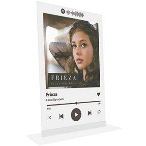 """Placa Acrílica Spotify - """"Frieza"""""""