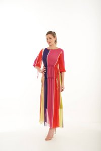 Vestido Yoná Estampado em Musseline