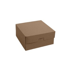 EMBALAGEM PARA DELIVERY MULTIUSO KRAFT - 153x152x75mm - 100 UNIDADES