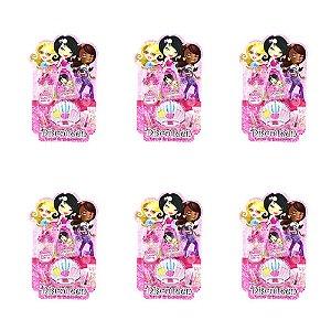 Estojo de Maquiagem e Acessórios Infantil Disco Teen HB 86507 – Kit c/ 06 unid