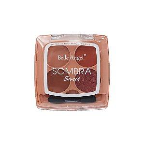 Paleta de Sombras Sweet 4 Cores Belle Angel B092