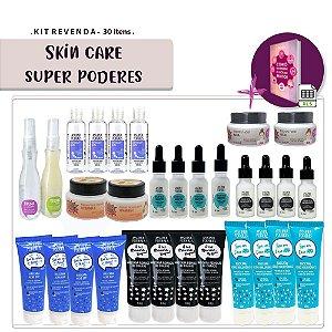 Kit Revenda Skin Care Super Poderes - 30 Itens