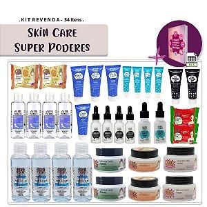 Kit Revenda Skin Care Super Poderes - 34 Itens