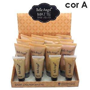 Base Líquida Matte Belle Angel B060 Cor A - Box c/12 unid