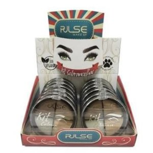 Kit Correção para Sobrancelhas Pulse Make Up – Box c/ 12 unid