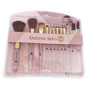 Kit de Pincéis para Maquiagem Sabrina Sato SS-851/SS-753
