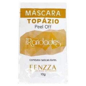 Máscara Topázio Peel Off Linha Raridades Fenzza FZ38015 – Pcte c/ 10 unid