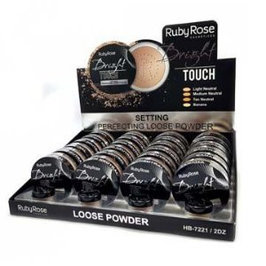 Pó Solto Bright Touch Loose Powder Ruby Rose HB-7221 - Box c/ 24 unid