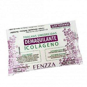 Toalhas Umedecidas Demaquilante com Colágeno Fenzza FZ51007