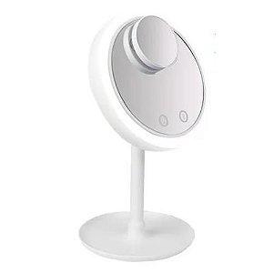 Espelho para Maquiagem com Ventilador e Luz de Led Beauty Breeze JJ-2092