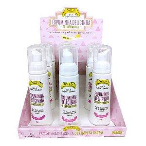 Espuminha Delicinha de Limpeza Facial Vegana Dalla DL0819 – Box c/ 12 unid