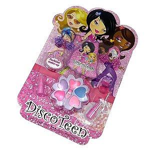 Estojo de Maquiagem e Acessórios Infantil Disco Teen HB 86507