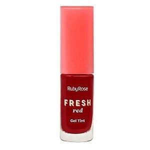 Gel Tint Fresh Red Ruby Rose HB-554