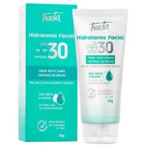 Hidratante Facial FPS 30 Pele Mista a Oleosa Tracta