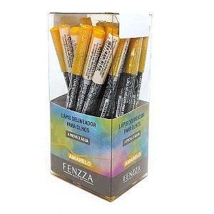 Lápis Delineador para Olhos Amarelo Fenzza FZ14009 – Box c/ 24 unid