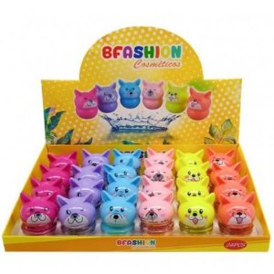 Lip Balm Cachorrinho Bella Femme NR50007 – Box c/ 24 unid