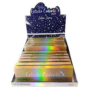 Paleta de Iluminador Estrela Cadente Playboy HB97808 – Box c/ 12 unid