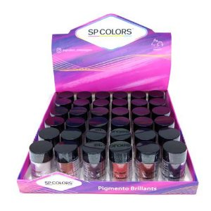 Pigmento Brillants SP Colors SP101 – Box c/ 36 unid