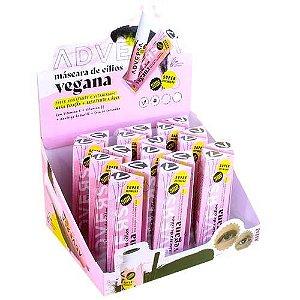 Máscara para Cílios Vegana Adversa AD208 – Box c/ 18 unid