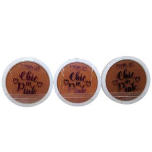 Blush Chic in Pink Cor B 04 ao 06 Pink 21 Cosmetics CS2355 – Kit c/ 03 unid