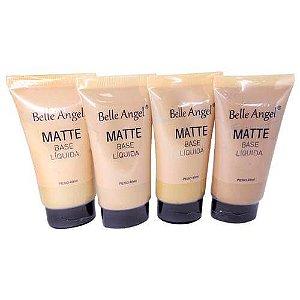 Base Líquida Matte Belle Angel B060Cor A- Kit c/ 04 unid