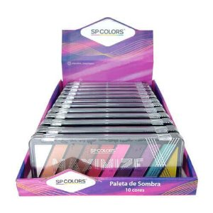 Paleta de Sombras Maximize SP Colors SP182 – Box c/ 12 unid