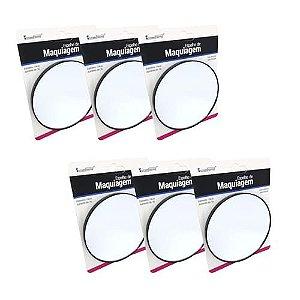 Espelho de Aumento com Ventosa Interponte HJ64519 – Kit c/ 06 unid
