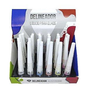 Delineador Líquido Neon Shine's SH540 - Box c/ 24 unid
