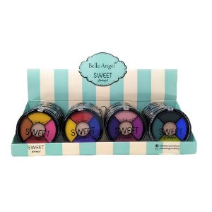 Paleta de Sombras Sweet Colorful Belle Angel B078 - Box c/ 24 unid