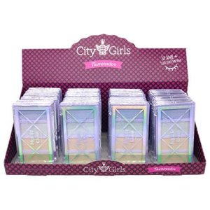 Iluminador Mystic Glow City Girls CG222 - Box c/ 24 unid