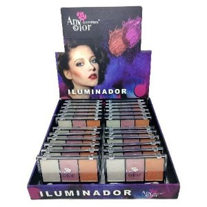 Paleta de Iluminador Any Color 1914 – Box c/ 24 unid