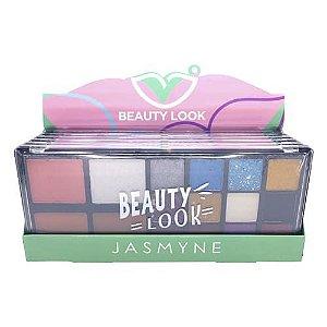 Paleta de Sombras Beauty Look Jasmyne JS07012 - Box c/ 06 unid
