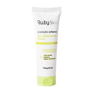 Gel Hidratante Facial Proteção Urbana Ruby Skin Ruby Rose HB-406