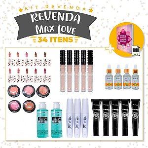 Kit Revenda Max Love - 34 Itens