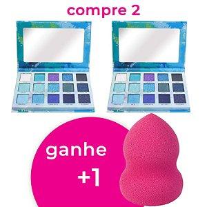 Compre 2 Paleta de Sombras Spotlight Eyeshadow Blue Luisance L2037 e Ganhe 1 Esponja 360°