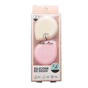 Esponja de Dedo em Silicone para Limpeza Facial Hello Mini LS240