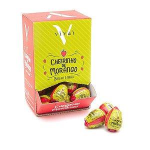 Brilho Labial Cheirinho de Morango Vivai 3061.1.5 – Box c/ 48 unid