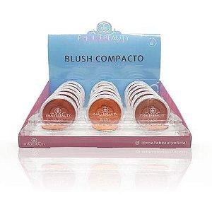 Blush Compacto Pretty Cheeks Phállebeauty PH0307 - Box c/ 18 unid