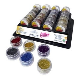 Sombra GlitterPhállebeauty PH063 – Box c/ 24 unid