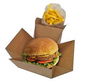 Caixa para Hambúrguer  Pacote com 100 unidades R$ 39,99