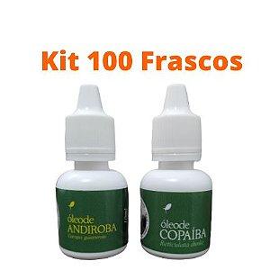Kit C - 50 Óleos de Copaíba + 50 Óleos de Andiroba