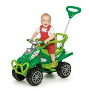 Carrinho Pedal Cross Turbo Calesita 0967 Verde