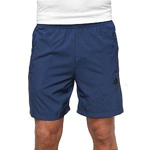 Short Adidas D2M Plano Masculino Azul