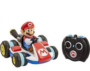 Carrinho Super Mario com Controle Remoto Mario Candide