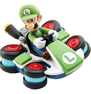 Carrinho Super Mario com Controle Remoto Luigi Candide